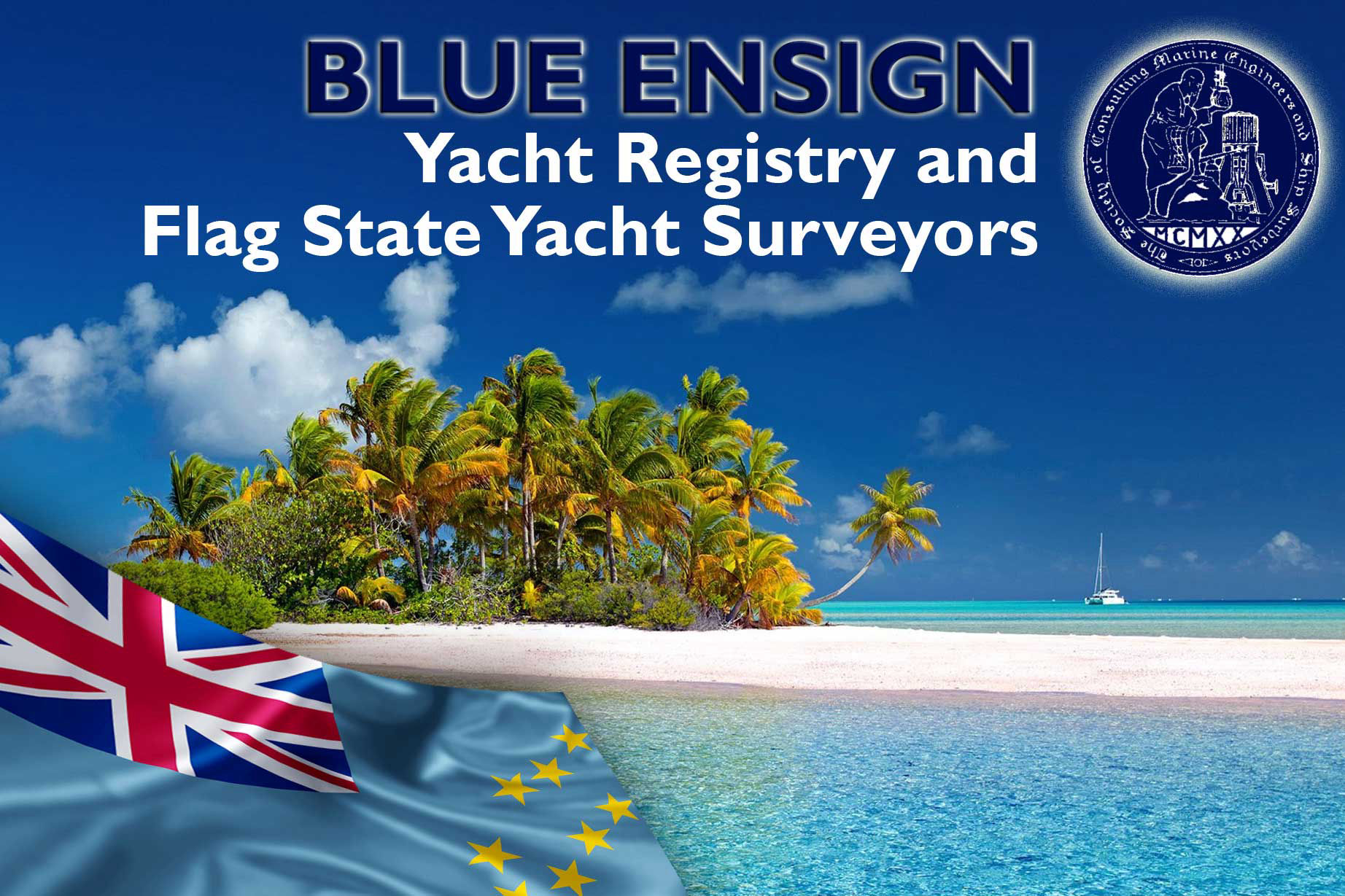 Blue Ensign - Tuvalu Yacht Registry and Surveyors